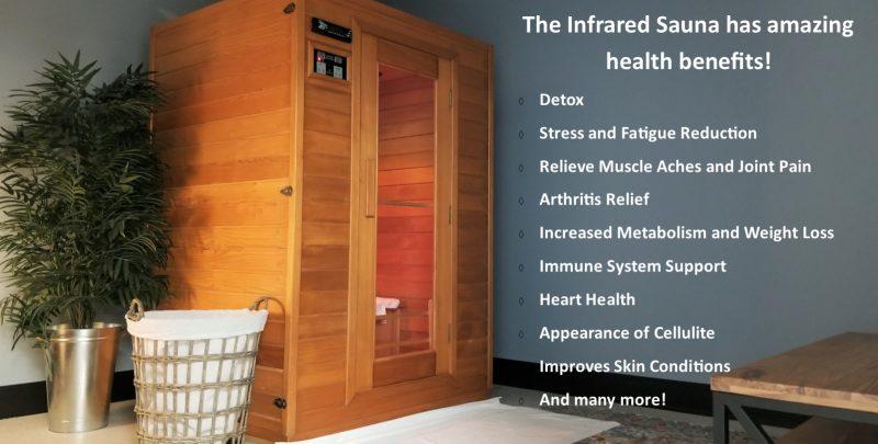 ocean integrated wellness infrared sauna