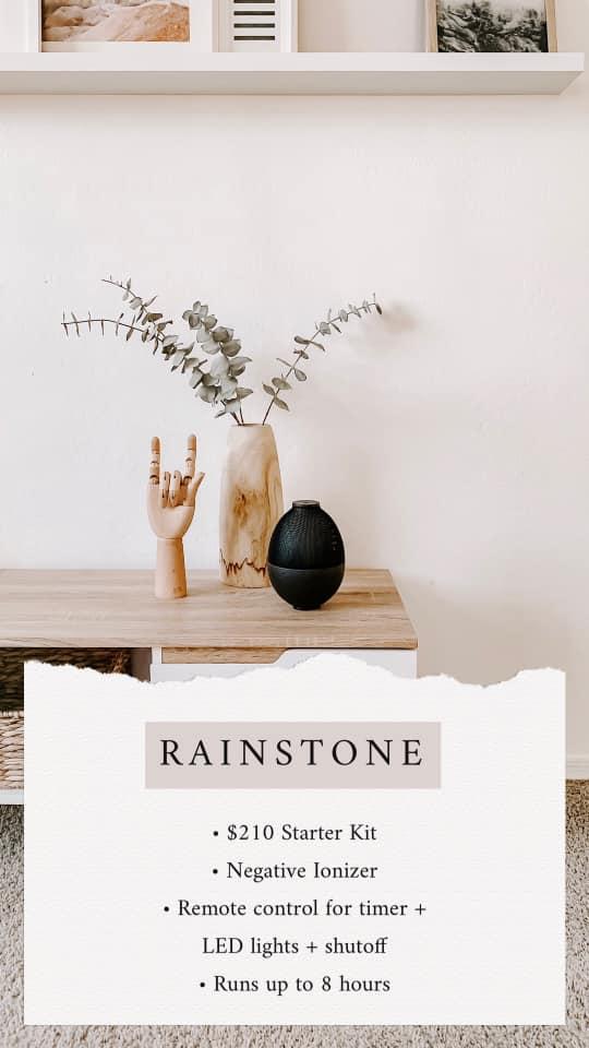 rainstone essential oil diffuser