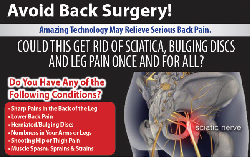Avoid Back Surgery and see how Ocean Integrated Wellness's amazing technology may relieve serious back pain.