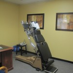 Chiro Adjusting Table and Laser